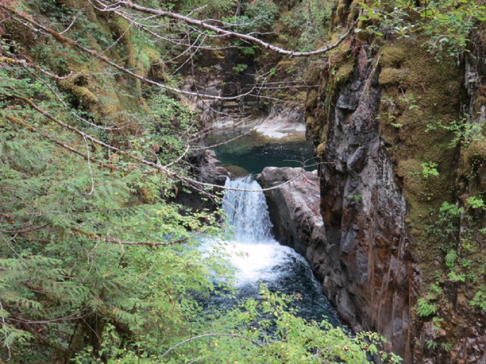 Little Qualicum Falls Park, Vancouver Island, BC