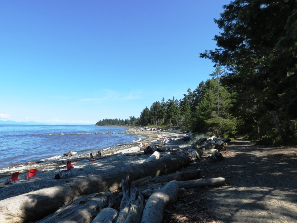 Miracle Beach Park, Vancouver Island, BC