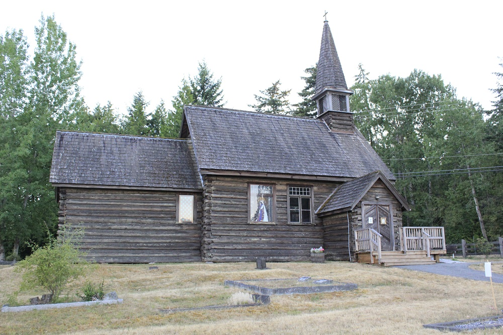 Parksville Church, Vancouver Island Communities, Pacific Northwest