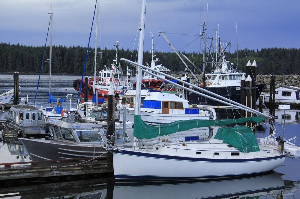 Port McNeil, Vancouver Island, BC, Coastal Region