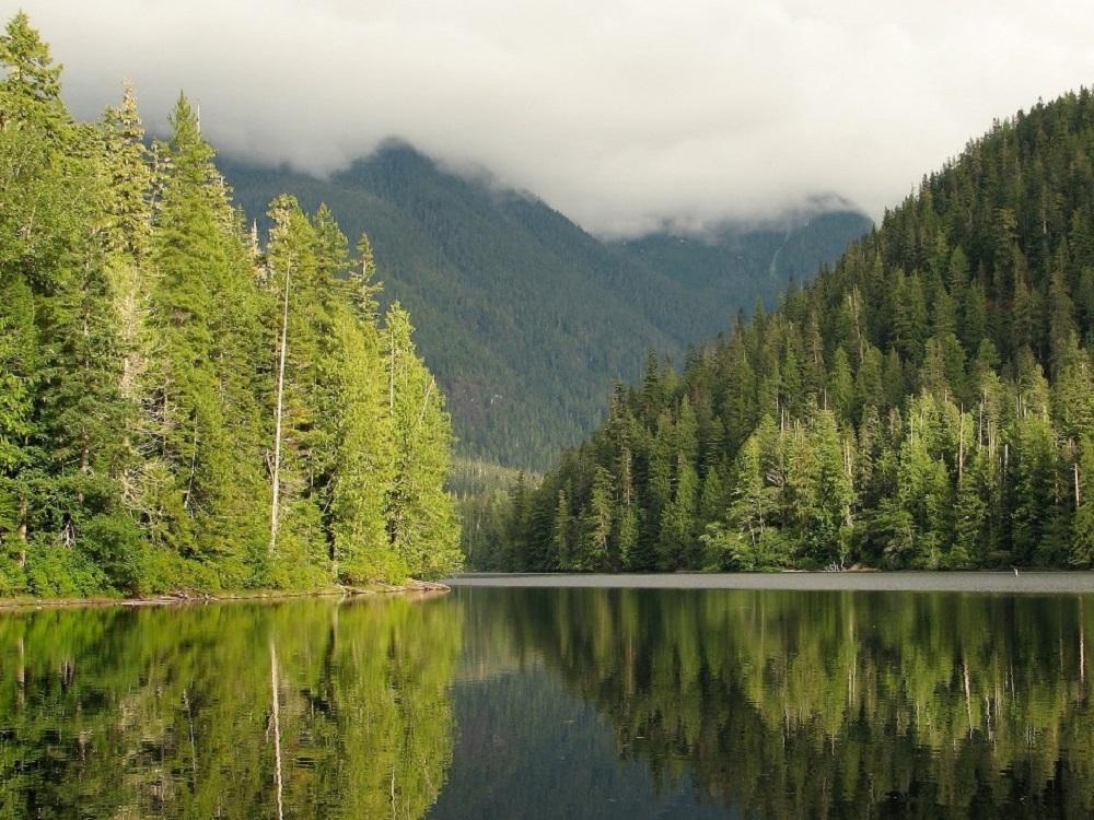 Schoen Lake, Vancouver island, BC, Coastal Region, Parks