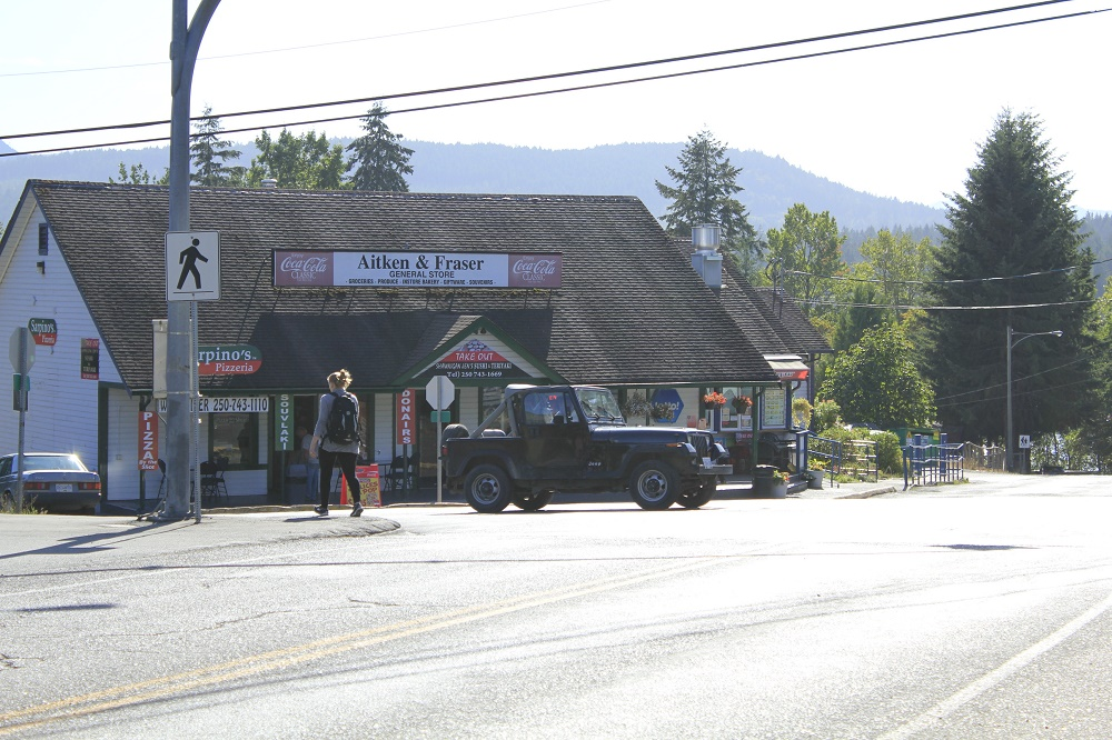 Shawnigan Lake Village, Vancouver Island, BC, Coastal Region