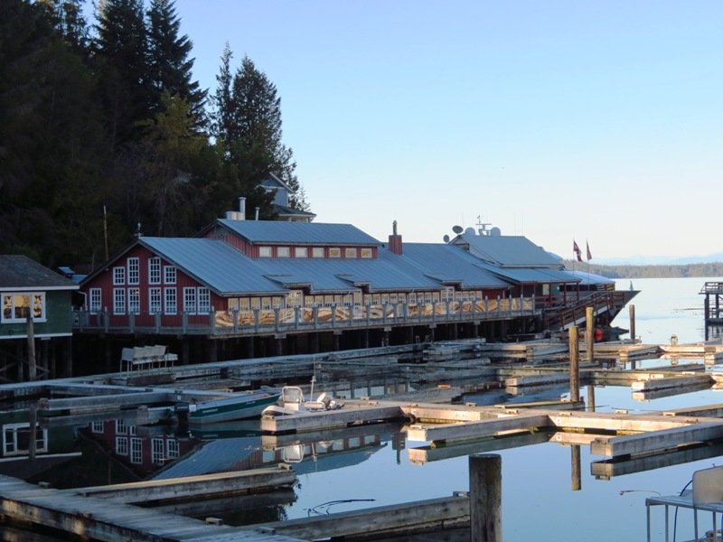 Telegraph Cove Resort, Vancouver Island, BC, Coastal Region