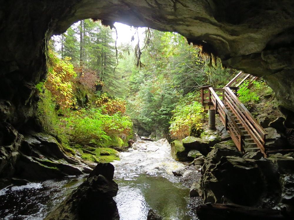 Upanna Caves, BC Coastal Region
