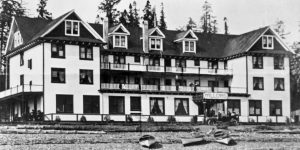 Willows Hotel, BC Coastal Region, Campbell River, Vancouver Island, BC