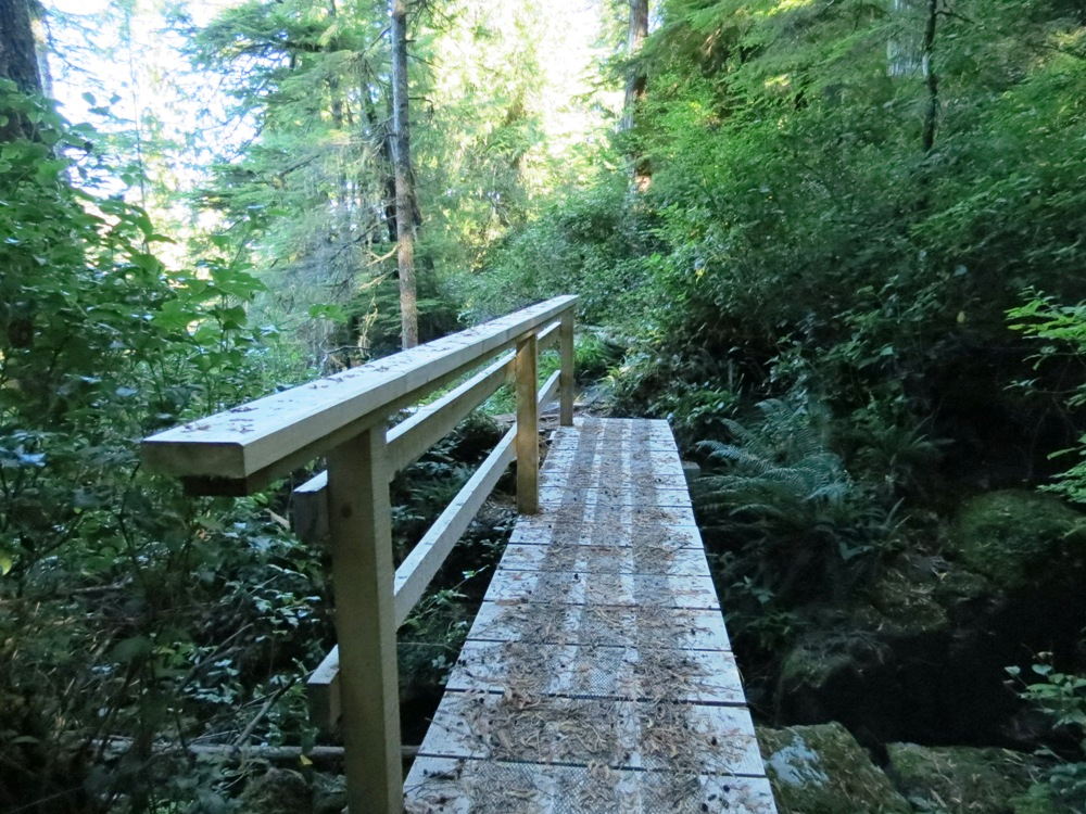 Blinkhorn Trail, Telegraph Cove, Vancouver Island, BC