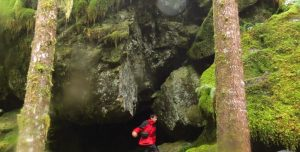 Liener River Bouldering Trail, Vancouver Island, BC