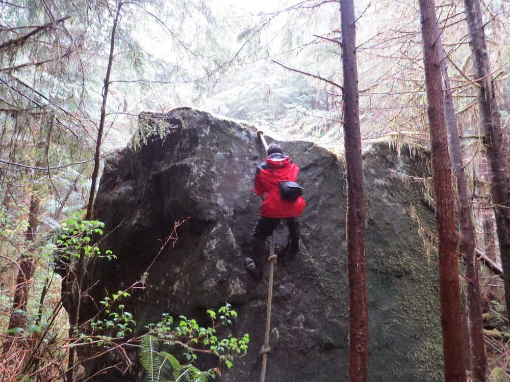 Liener River Bouldering Trail, Pacific Northwest Trails