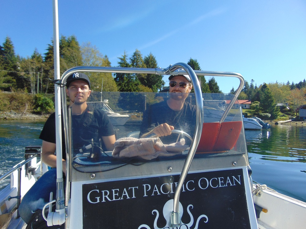 Bamfield Water Taxi, Vancouver Island, BC