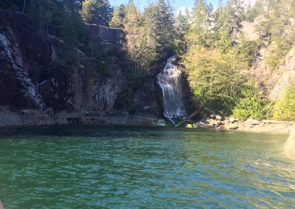 Cassel Falls, West Redonda Island