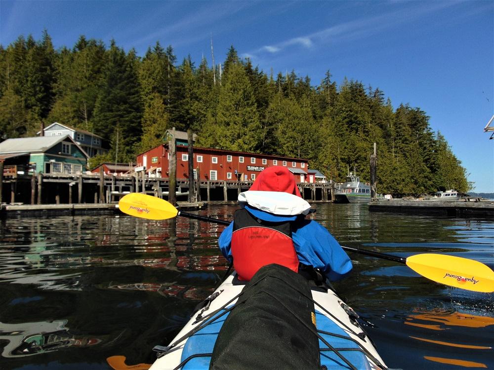 North Island Kayak, Telegraph Cove, Vancouver Island, BC