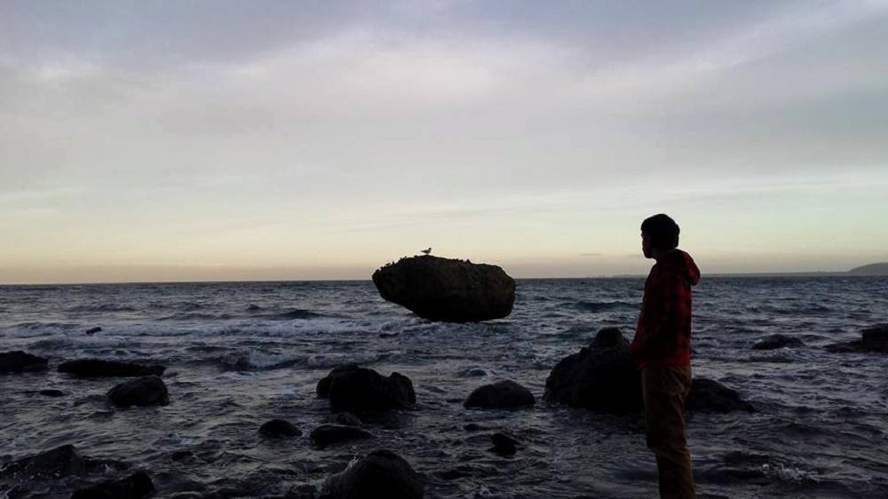 Balance Rock Beach, Haida Gwaii, Pacific Northwest