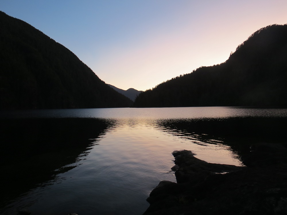 Atluck Lake, Vancouver Island, Pacific Northwest