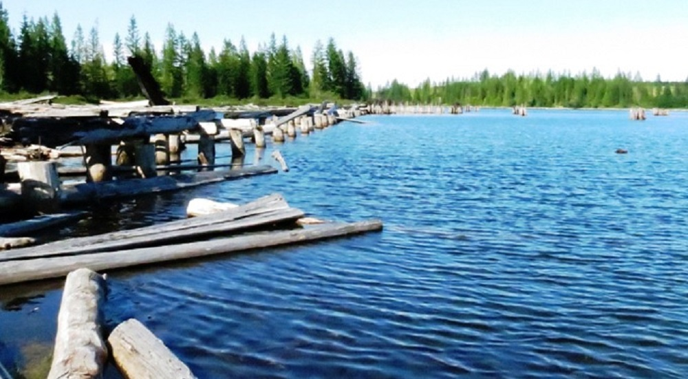 Gooseneck Lake, Vancouver Island, Pacific Northwest