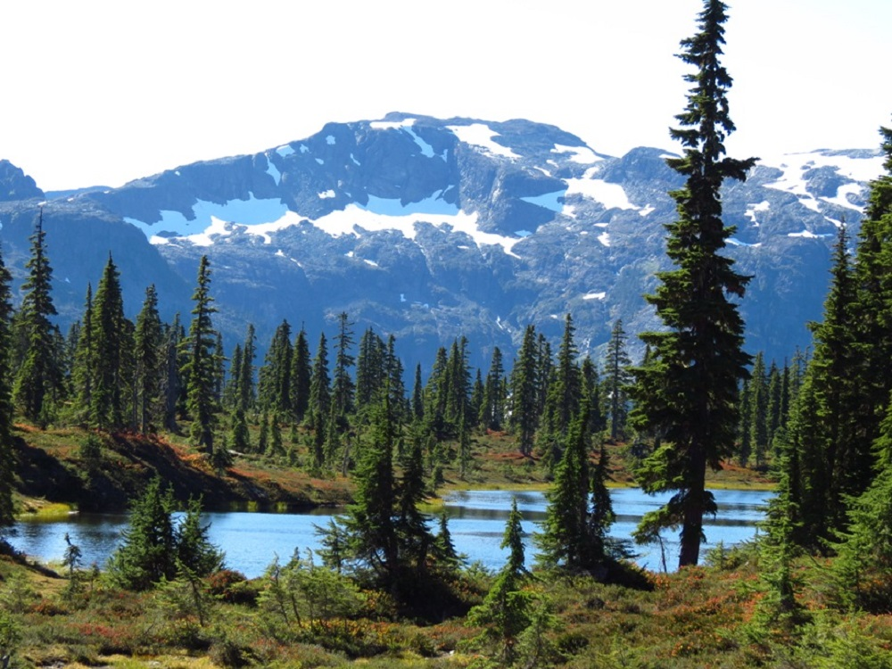 Hairtrigger Lake, Vancouver Island, Pacific Northwest