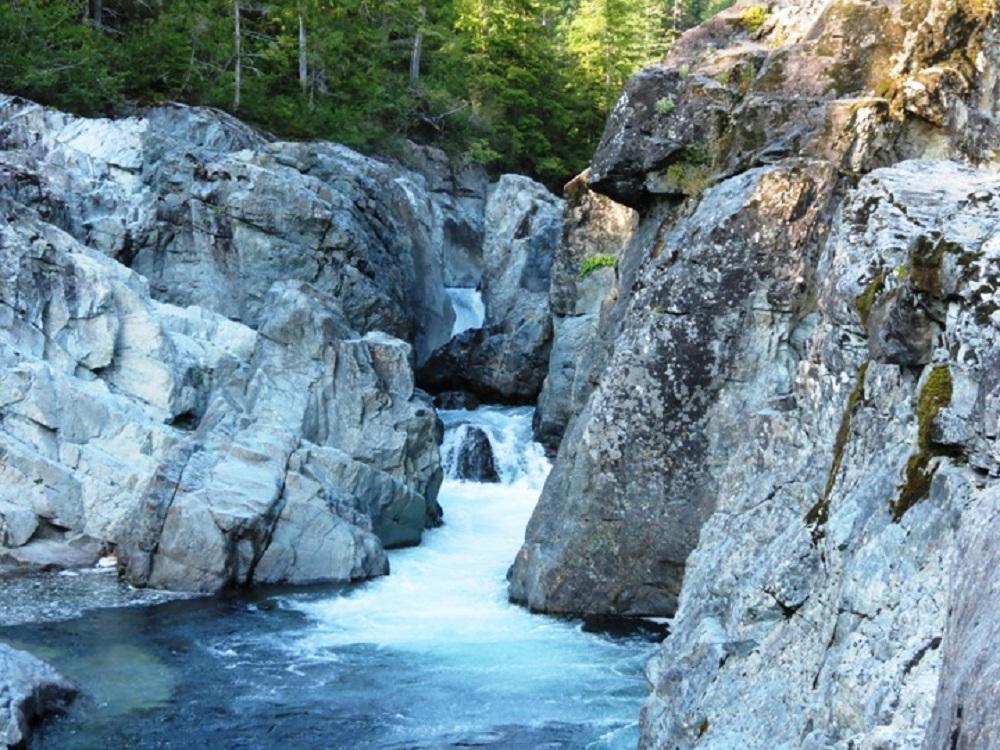 Somas River, Vancouver Island, Pacific Northwest