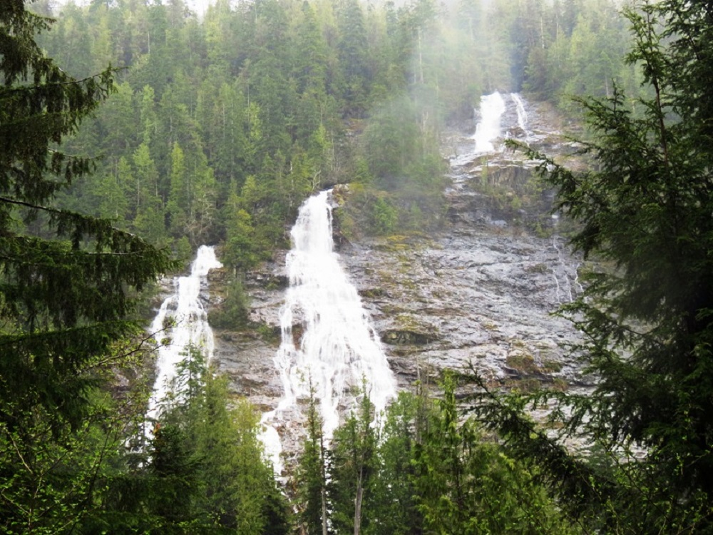 Three Sister Falls, Vancouver Island, Pacific Northwest