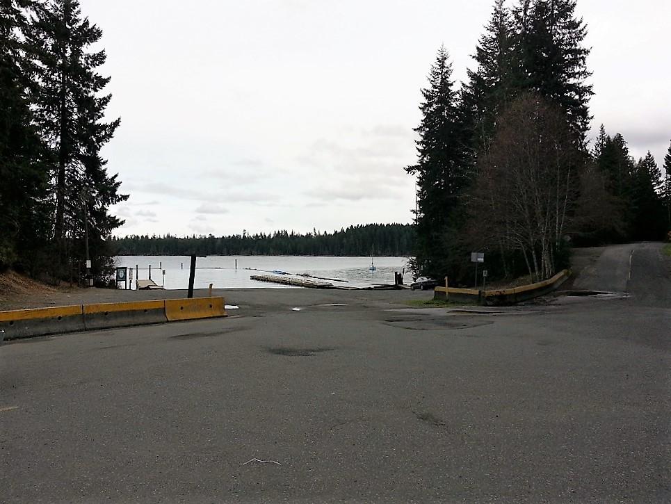 Comox Lake Campground Park, Cumberland, Vancouver Island, Pacific Northwest