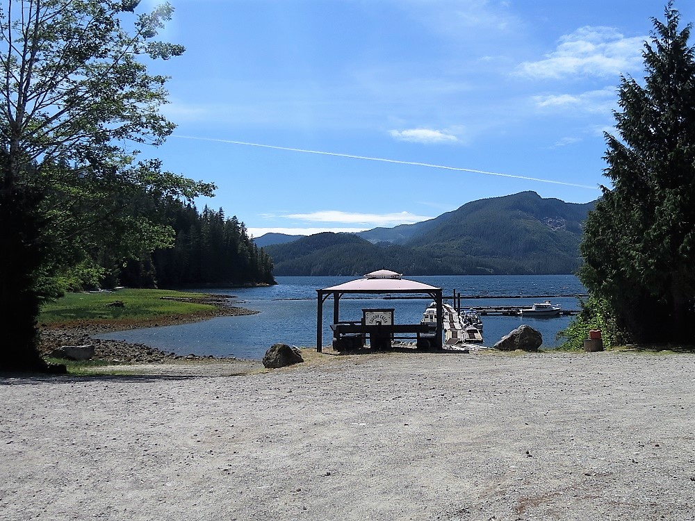 Cougar Creek Campground, Vancouver Island, Pacific Northwest