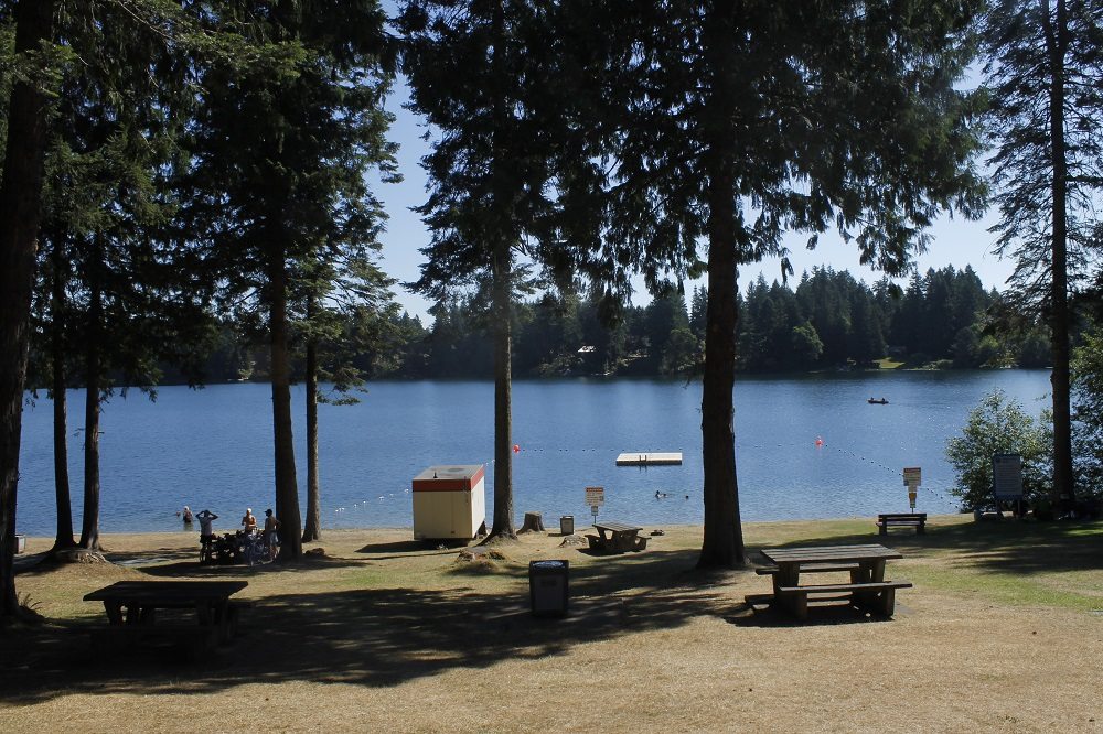 Fuller Lake Park, Vancouver Island, Pacific Northwest