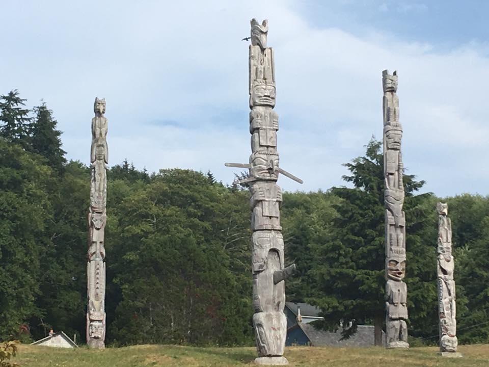 Totem Poles, Alert Bay