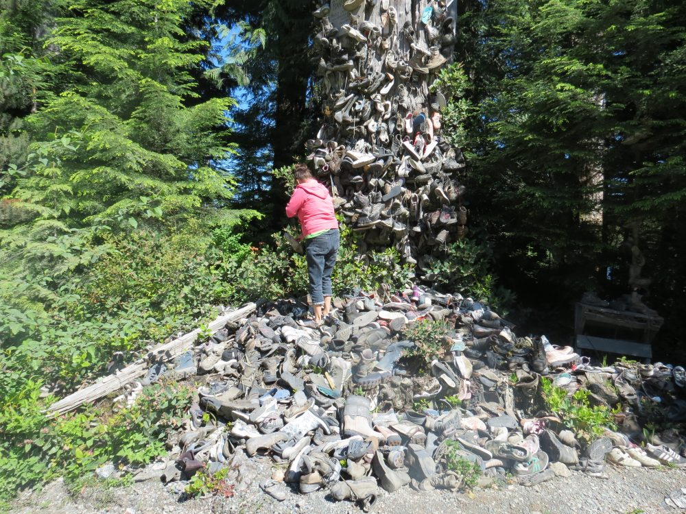 The Shoe Tree, Vancouver Island, BC