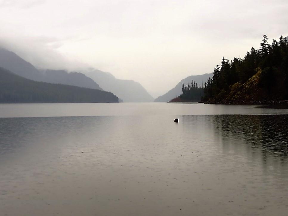 Buttle Lake, photo by Bud Logan
