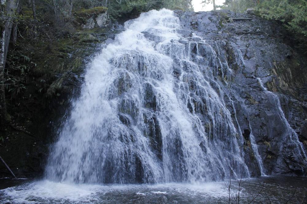Christie falls, photo by Bud Logan