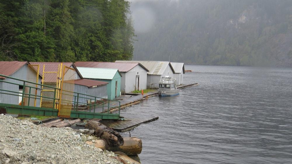 Nesook Bay, photo by Bud Logan