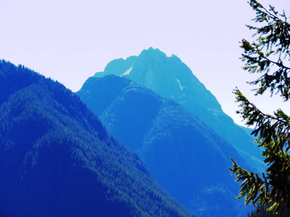 Mountains of Strathcona Park, photo by Bud Logan
