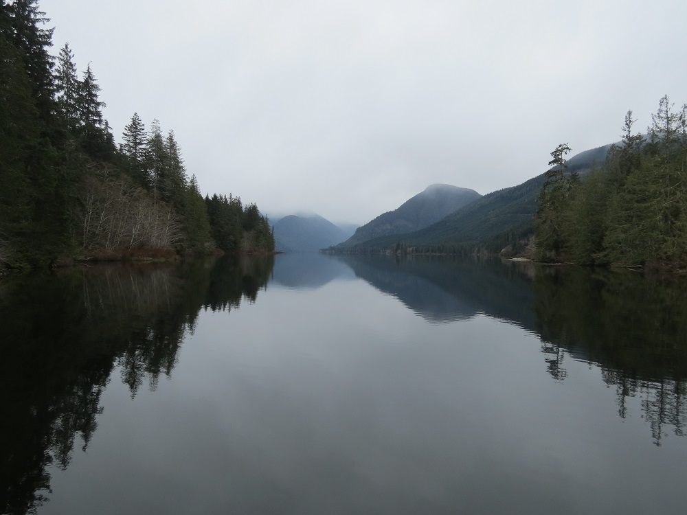 Woss Lake, photo by Bud Logan
