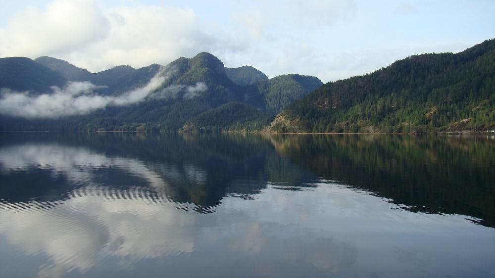 Zeballos Inlet, Vancouver Island, BC