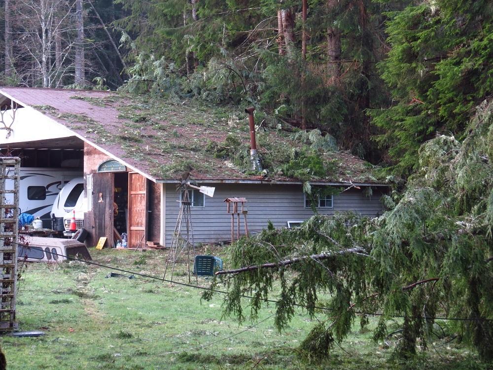 Sayward Winter Storm, Vancouver Island, BC
