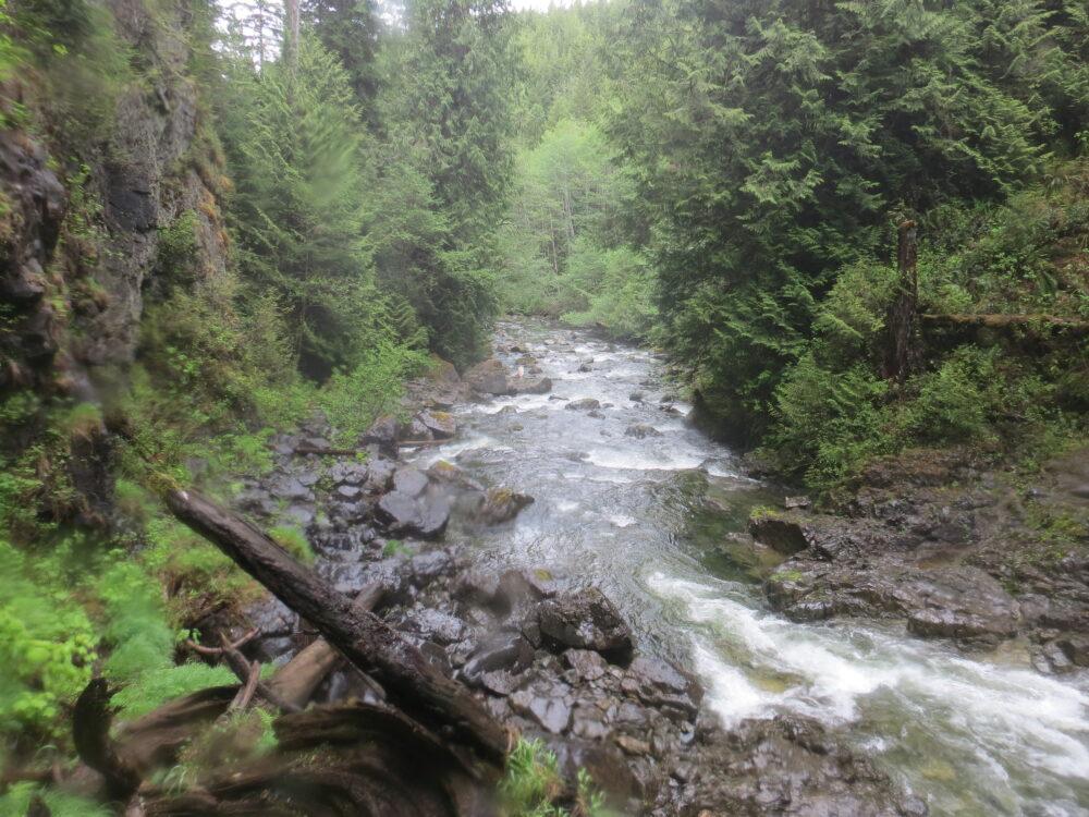 Naka Creek Falls, Vancouver Island, BC