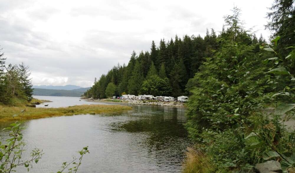 Little Bear Bay Camping, Vancouver Island, BC