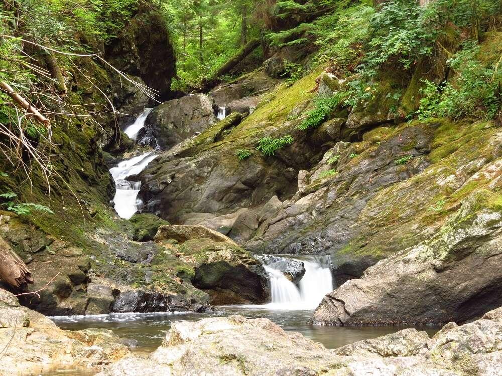 Little Bear Bay Falls, Vancouver Island, BC