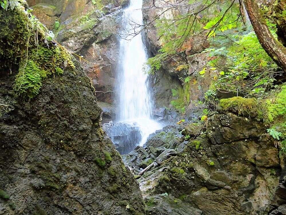 Upana Falls, Upana Caves, Vancouver Island, BC