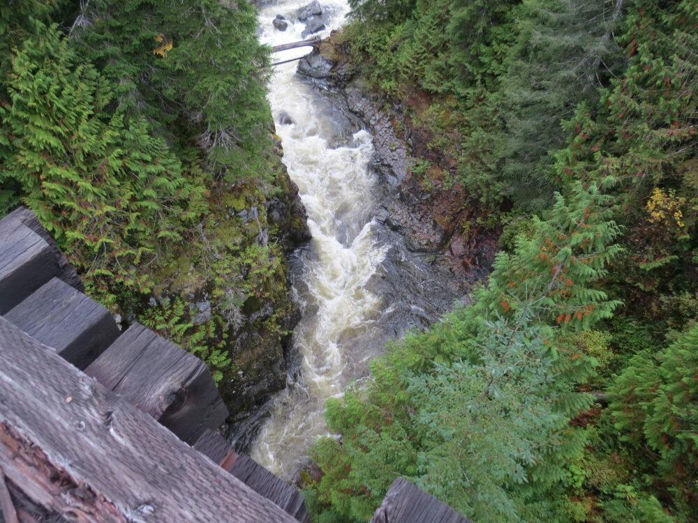 Davie River Trestle, Woss BC